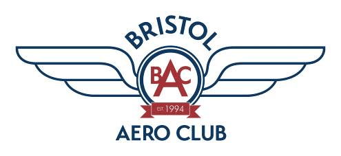 Logo for the Bristol Aero Club, one of Digital Lychee's clients