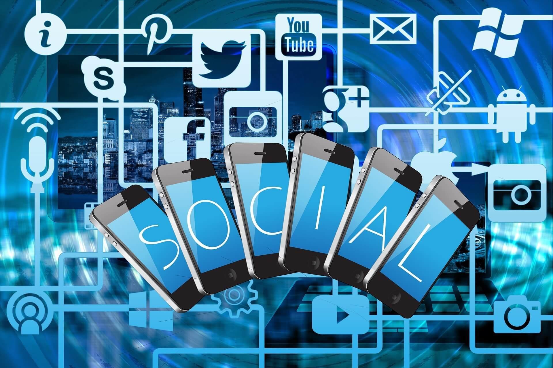 Social Media Links Digital Lychee Blog Featured Image