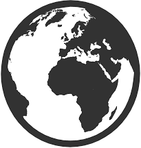 Globe Icon, Used As A Favicon In A Browser When One Isn't Provided
