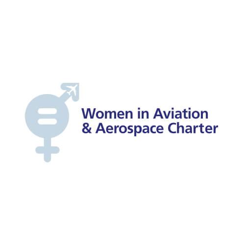 Women in Aviation and Aerospace Charter Testimonial Slider Logo Image